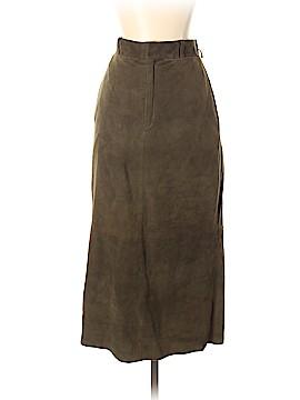 Ralph Lauren Black Label Leather Skirt Size 4