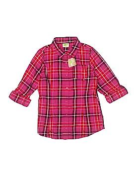 Crazy 8 Long Sleeve Button-Down Shirt Size 14