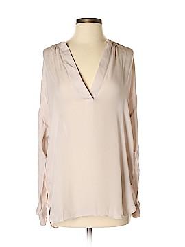 Vince. Long Sleeve Silk Top Size XXS