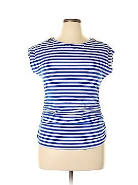 Andrea Jovine Short Sleeve Top Size XL