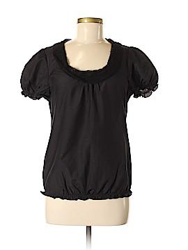 Sanctuary Short Sleeve Silk Top Size M