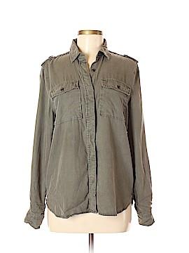 Frame Shirt London Los Angeles Long Sleeve Button-Down Shirt Size M