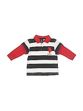 U.S. Polo Assn. Long Sleeve Polo Size 18 mo