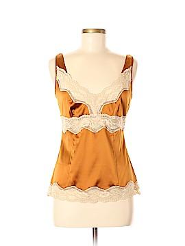 Moda International Sleeveless Silk Top Size M