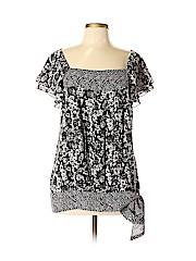 Apt. 9 Women Short Sleeve Blouse Size L