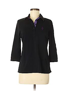 L-RL Lauren Active Ralph Lauren 3/4 Sleeve Polo Size M