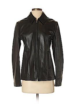 Banana Republic Leather Jacket Size S