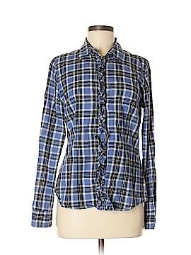 Banana Republic Factory Store Long Sleeve Button-Down Shirt Size M