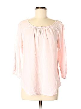 Cynthia Rowley TJX 3/4 Sleeve Blouse Size L