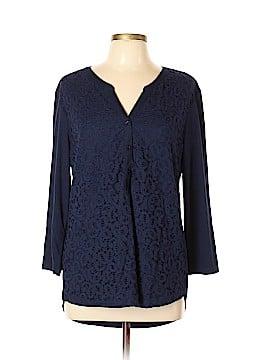 DressBarn 3/4 Sleeve Top Size XL