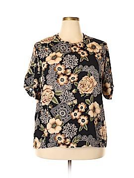 Sag Harbor Short Sleeve Blouse Size 3X (Plus)