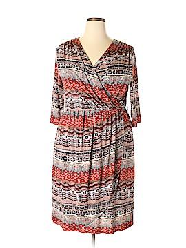 Lucie Lu Casual Dress Size 2X (Plus)