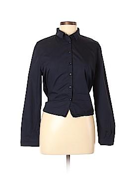 Zara Basic Long Sleeve Blouse Size L