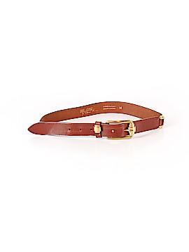 Linea Pelle Leather Belt Size M