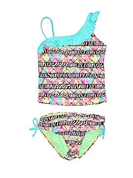 Breaking Waves Two Piece Swimsuit Size 10