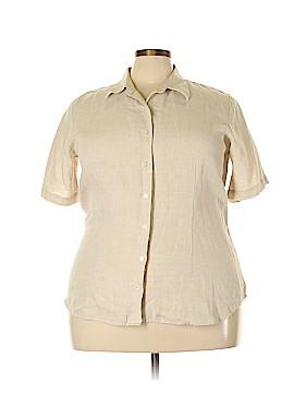 Lands' End Short Sleeve Blouse Size 20w (Plus)