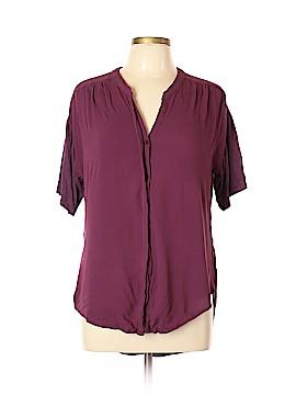 Porridge Short Sleeve Button-Down Shirt Size L