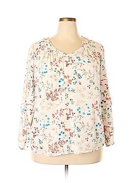 St. John's Bay Long Sleeve Blouse Size 2X (Plus)