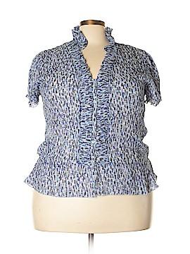 Bethany Short Sleeve Blouse Size XXL