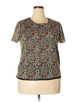 AK Anne Klein Short Sleeve Top Size 2X (Plus)
