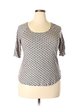 Maison Jules 3/4 Sleeve T-Shirt Size XL