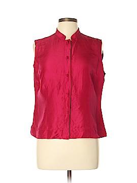 Amanda Smith Sleeveless Silk Top Size L