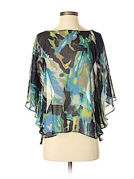 INC International Concepts Short Sleeve Blouse Size 4
