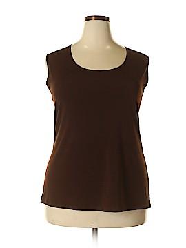 CKW Women Sleeveless Top Size 3X (Plus)