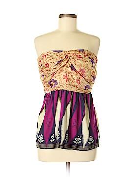 Deletta Sleeveless Silk Top Size M