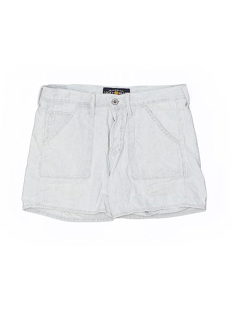 Lucky Brand Women Khaki Shorts Size 2