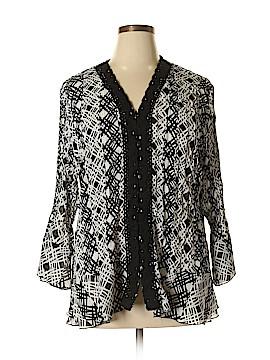 Sunny Leigh 3/4 Sleeve Blouse Size 2X (Plus)