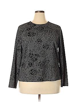 Laura Ashley Long Sleeve Top Size 1X (Plus)