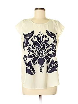 Pim + Larkin Short Sleeve Blouse Size M