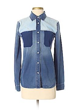 Stella McCartney Long Sleeve Button-Down Shirt Size 38 (IT)