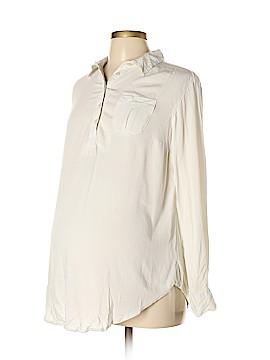 Liz Lange Maternity for Target Long Sleeve Blouse Size M (Maternity)