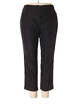 Larry Levine Casual Pants Size 18W (Plus)