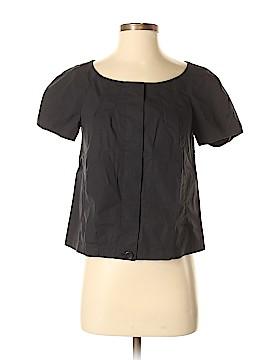 Theory Short Sleeve Blouse Size 6