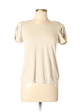Pink Tartan Short Sleeve T-Shirt Size M