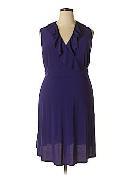 Fashion Bug Casual Dress Size 1X (Plus)