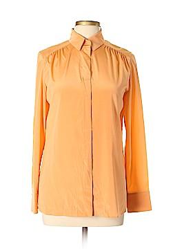BOSS by HUGO BOSS Long Sleeve Silk Top Size 6