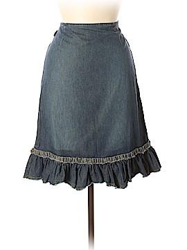 Moschino Jeans Denim Skirt Size 6
