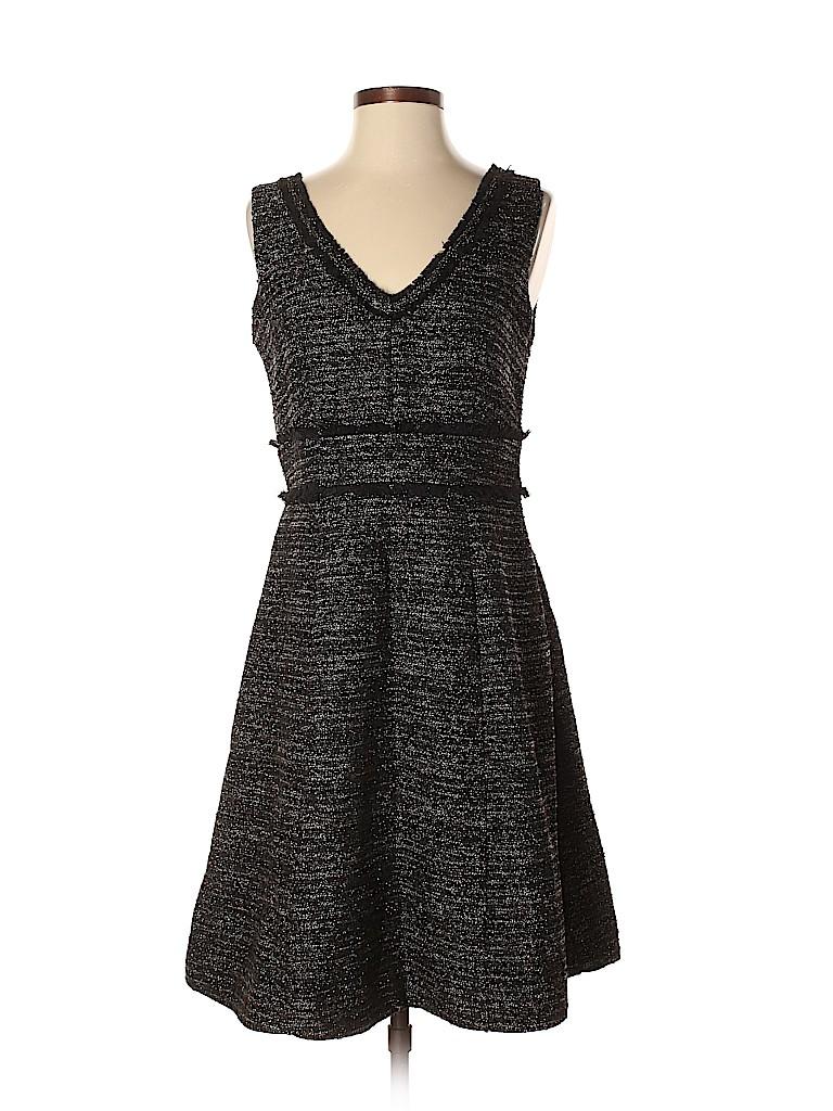 76c9cd71672a NANETTE Nanette Lepore Tweed Silver Cocktail Dress Size 4 - 75% off ...