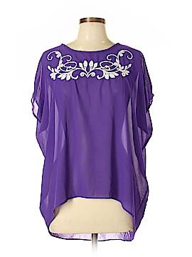 JW (JW Style) Short Sleeve Blouse Size L