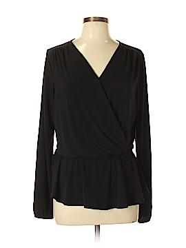 Bobeau Long Sleeve Top Size L