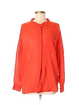 NSF Long Sleeve Blouse Size M