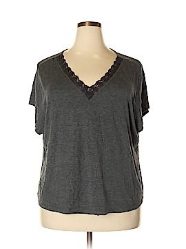 Delicates Short Sleeve T-Shirt Size 3X (Plus)