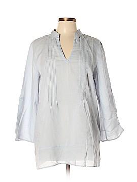 Soft Surroundings Long Sleeve Blouse Size L (Petite)