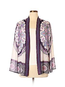 Travelers by Chico's Kimono Size Lg (2)