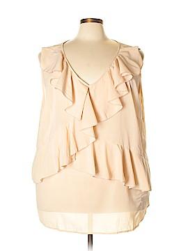 Denim 24/7 Sleeveless Blouse Size 30 (Plus)