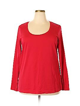 Eddie Bauer Long Sleeve T-Shirt Size XXL (Tall)